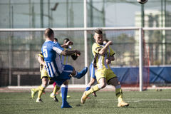 St Joseph go through to semi finals after penalty shootout with Royalty Free Stock Photography