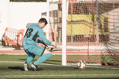 St Joseph go through to semi finals after penalty shootout with Stock Photo