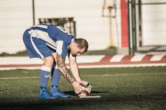 St Joseph go through to semi finals after penalty shootout with Stock Photos