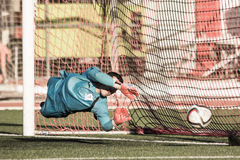 St Joseph go through to semi finals after penalty shootout with Royalty Free Stock Photos