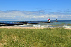 St. Joseph Lighthouse. Historic St. Joseph lighthouse in Michigan, USA Royalty Free Stock Image