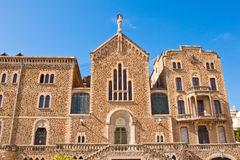 St. Joseph of the Mountain church in Barcelona, Spain Royalty Free Stock Photos