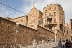 St. Joseph of the Mountain church in Barcelona, Spain Stock Images