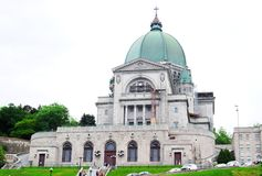 St. Joseph Oratory. In Montreal, Canada royalty free stock photo