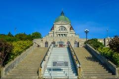 St Joseph Oratory Canada Fotografia Stock Libera da Diritti
