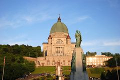 St Joseph Oratory, Montreal, Kanada Royaltyfri Fotografi