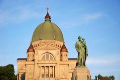 St Joseph Oratory, Montreal, Kanada Arkivfoto