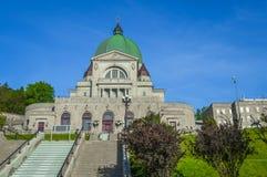 St Joseph Oratory i Montreal Arkivbild