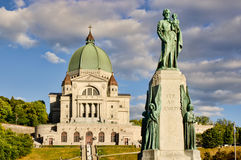 St.Joseph Oratory in Montreal Stock Photos