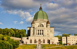 St.Joseph Oratory in Montreal royalty free stock images