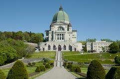 St Joseph Oratory - Montreal - Canada Fotografia Stock Libera da Diritti