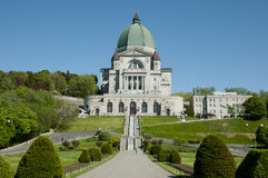 St Joseph Oratory - Montreal - Kanada Royaltyfri Fotografi