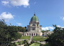 St Joseph Oratory, Montreal, Quebec, Canadá Foto de archivo libre de regalías