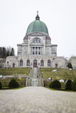 St-Joseph Oratory side facade details Royalty Free Stock Photos