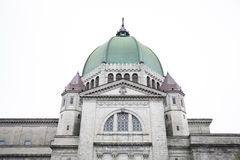 St-Joseph Oratory side facade details Royalty Free Stock Photography