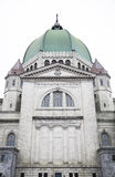 St-Joseph Oratory side facade details Royalty Free Stock Photo