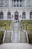 St-Joseph Oratory side facade details Stock Photography