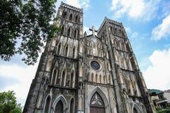 St Joseph's Cathedral in Hanoi, Hanoi, Vietnam Stock Photo
