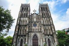 St Joseph's Cathedral in Hanoi, Hanoi, Vietnam Royalty Free Stock Photos