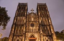 St Joseph's Cathedral Stock Photos