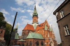 St. Joseph's Church in Krakow Royalty Free Stock Images