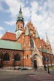 St. Joseph's Church in Krakow Stock Photography
