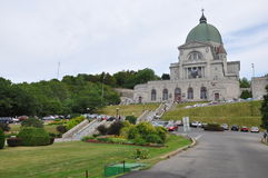 St Joseph S Oratory At Mount Royal In Montreal Stock Photography