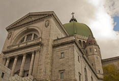 St. Joseph's Oratory in Montreal, Canada stock photography