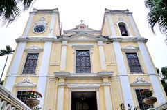 St Joseph Seminary and Church. In macao Royalty Free Stock Photography
