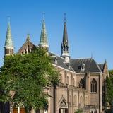 St Josephkerk, Alkmaar, Paesi Bassi della chiesa immagine stock libera da diritti