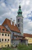 St. Jost Church in Cesky Krumlov Royalty Free Stock Photo