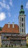 St. Jost Church in Cesky Krumlov Stock Photography