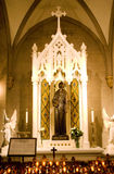 St Jude's Shrine Saint Patrick's Cathedral Royalty Free Stock Photo