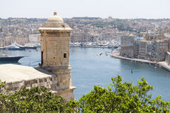 St Julian's harbour, Malta Stock Photos