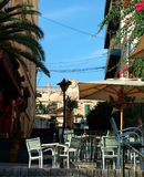 St Julians Street. Typical tourist area in St Julians, Malta Royalty Free Stock Image