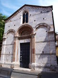 St Juliet church, Lucca, Italy Royalty Free Stock Images