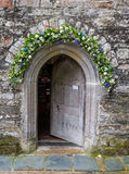 St Just in Roseland Church in cornwall england uk Royalty Free Stock Photo
