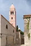 St. Justine Church campanile Royalty Free Stock Image