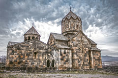 St. Karapet Church. Of heights Royalty Free Stock Image