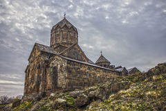 St. Karapet Church. Of heights Royalty Free Stock Images