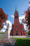 St Katarzyna Church, Torun. Saint Katarzyna (Kathrine) Church of Torun, Poland Stock Photo