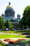 St Katedra Isaac Obraz Royalty Free