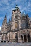 St. Katedra Vitus. Praga Zdjęcia Royalty Free