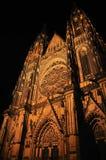 st katedralny vitus Zdjęcie Royalty Free