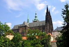 st katedralny vitus Zdjęcie Stock