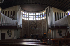 St Katharina kościół Fotografia Royalty Free