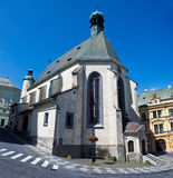 St. Katharine church royalty free stock photos