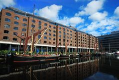 St katharine dock Royalty Free Stock Photos
