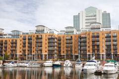 St Katharine dock. London, England Royalty Free Stock Photo
