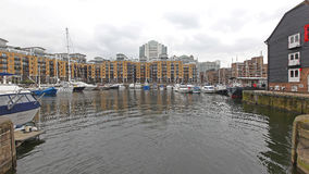 St Katharine Docks London Royaltyfri Foto